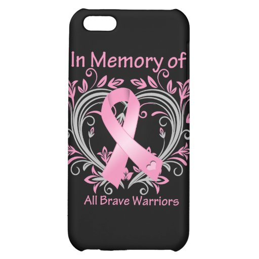 In Memory of All Brave Warriors Breast Cancer iPhone 5C Covers