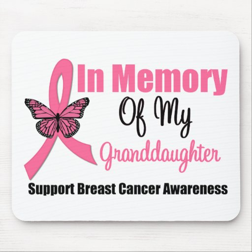 In Memory of My Granddaughter Mouse Pads