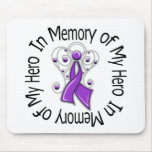 In Memory of My Hero Domestic Violence Mousepad
