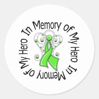 In Memory of My Hero Mental Health Awareness Stickers