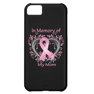 In Memory of My Mom Breast Cancer Heart iPhone 5C Case