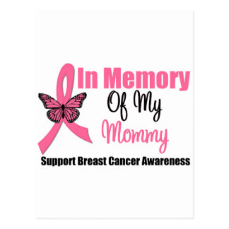 In Memory of My Mommy Postcard