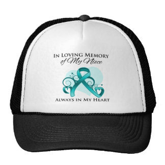 In Memory of My Niece - Ovarian Cancer Trucker Hat