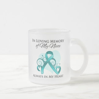 In Memory of My Niece - Ovarian Cancer Coffee Mugs