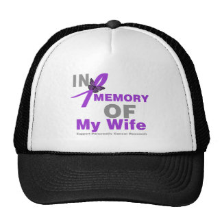 In Memory of My Wife Pancreatic Cancer Cap