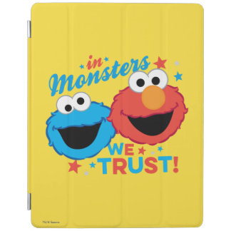 In Monsters We Trust! iPad Cover