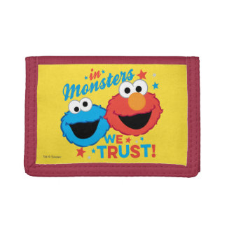 In Monsters We Trust! Trifold Wallets