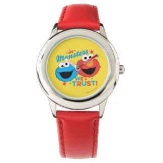 In Monsters We Trust! Wrist Watch
