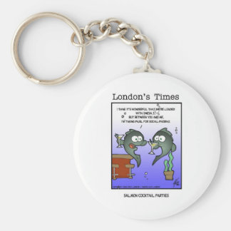 In Mood 4 Salmon Funny Gifts Tees & Collectibles Basic Round Button Key Ring