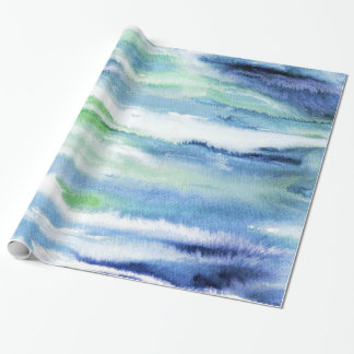 'In Motion 3' Wrapping Paper