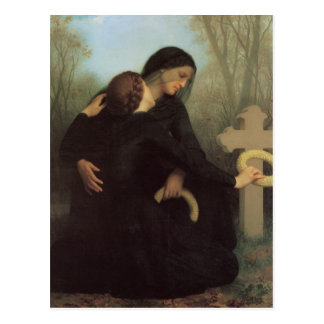 In Mourning Postcard