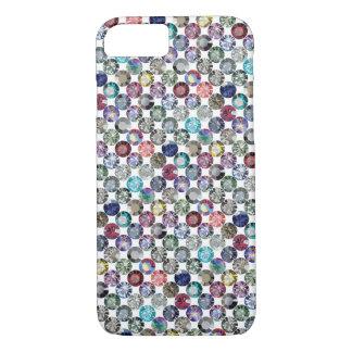 in multicolour rainbow iPhone 7 case