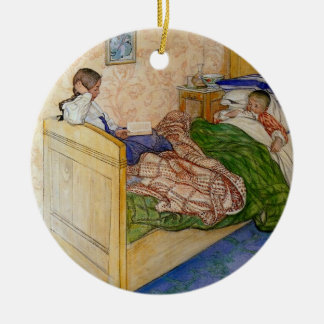 In Mum's Bed 1908 Christmas Ornament