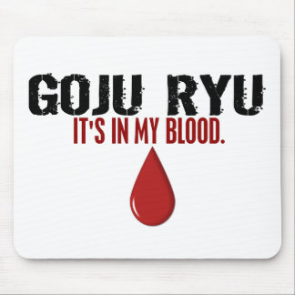 In My Blood GOJU RYU Mouse Mat