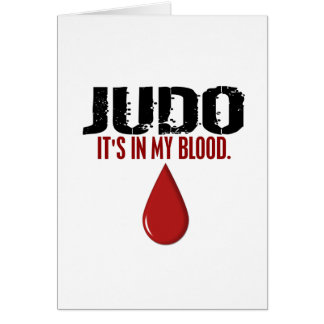 In My Blood JUDO Card