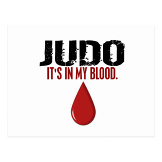 In My Blood JUDO Postcard