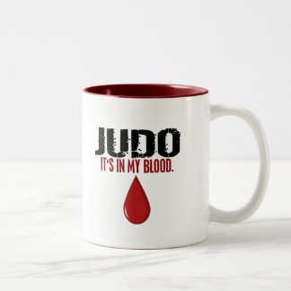 In My Blood JUDO Two-Tone Coffee Mug