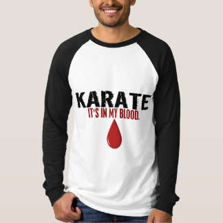 In My Blood KARATE T-shirts