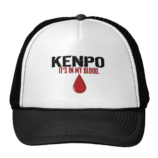 In My Blood KENPO Trucker Hat