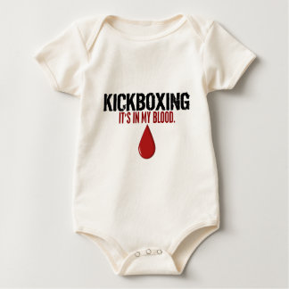 In My Blood KICKBOXING Baby Bodysuit