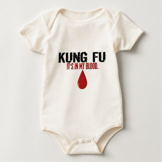 In My Blood KUNG FU Baby Bodysuit