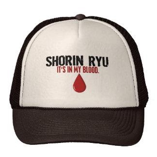 In My Blood SHORIN RYU Trucker Hats