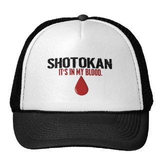 In My Blood SHOTOKAN Cap