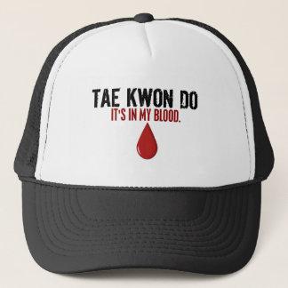 In My Blood TAE KWON DO Trucker Hat