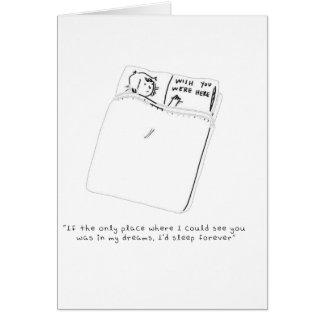 In My Dreams Card