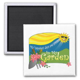 In My Garden Refrigerator Magnet