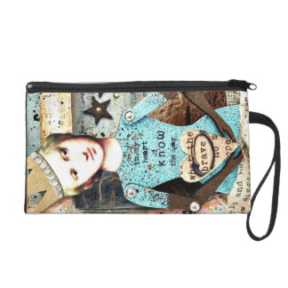 In my Heart I know the Way Wristlet Clutch