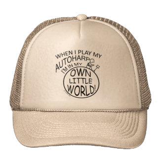 In My Own Little World Autoharp Trucker Hats