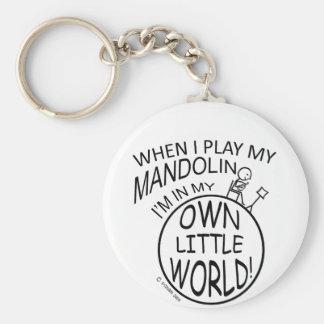 In My Own Little World Mandolin Key Ring