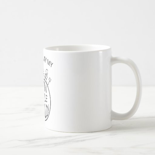 In My Own Little World Tin Whistle Coffee Mug
