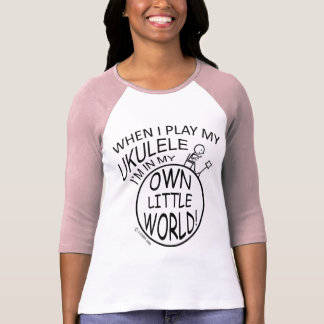 In My Own Little World Ukulele T-Shirt