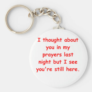 in my prayers key chains