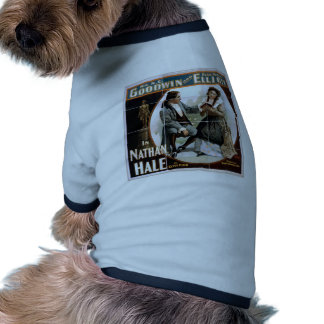 In Nathan Hale, by 'Clyde Fitch' Vintage Theater Doggie T-shirt