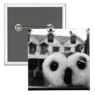 In Need Of Shelter 15 Cm Square Badge