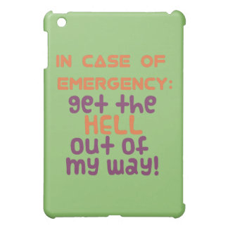 In of Emergency... iPad Mini Cases