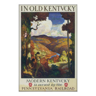 In Old Kentucky Pennsylvania Railroad Posters
