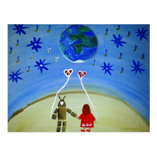 ...In Other Words...art by Jutta Gabriel... Postcard
