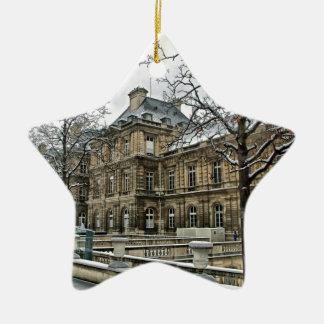 In Paris Christmas Ornament