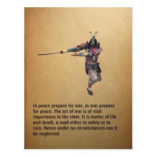 In peace prepare for war, in... postcard
