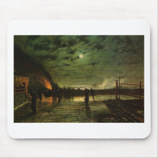 In Peril by John Atkinson Grimshaw Mouse Mat