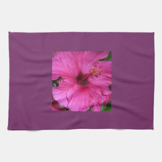 In Pink Tea Towel