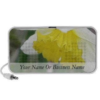 In Profile - Delicate Spring Daffodil PC Speakers