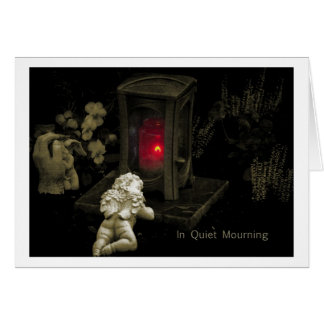 In Quiet Mourning Cards
