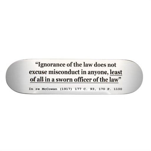 In re McCowan (1917) 177 C 93 170 P 1100 Case Law Skate Board