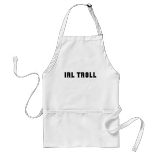 In Real Life IRL Troll Internet Meme Aprons