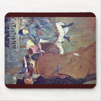 In Rouge The Beginning Of The Quadrille Mousepads